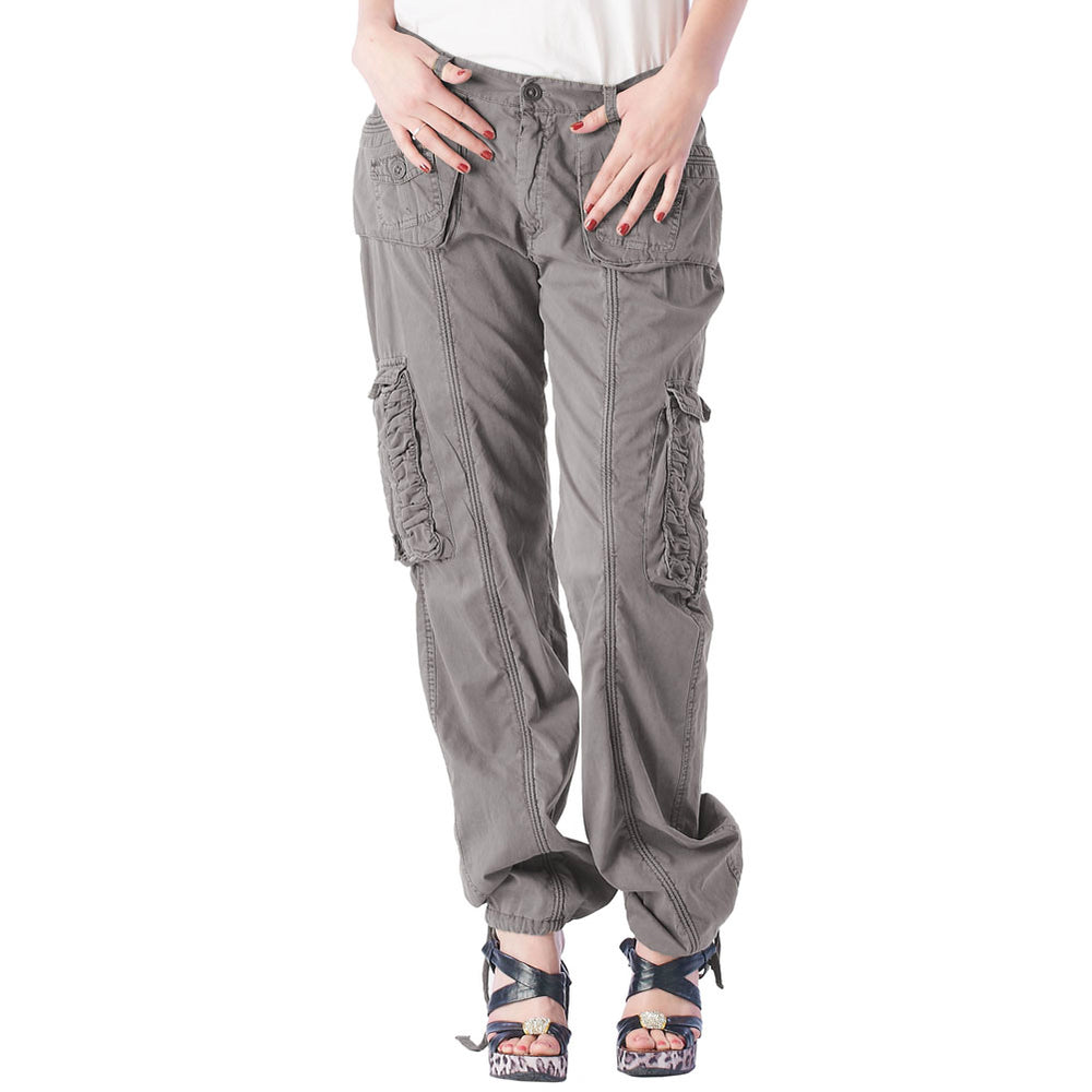 Women's Cargo Ruched Pants #12229