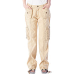 Women's Ruched Cargo Pants #12229 Garment Dye USA