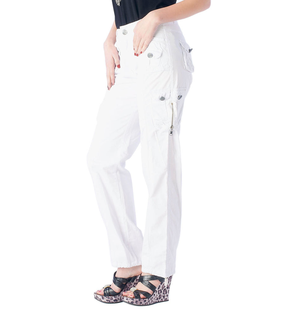 Women's Cargo Ruched Pants #12229 - IDI Clothing - Where you can buy directly for the designer manufacturer-Made In USA :)