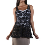 Women's Crochet Sleeveless Top #13037
