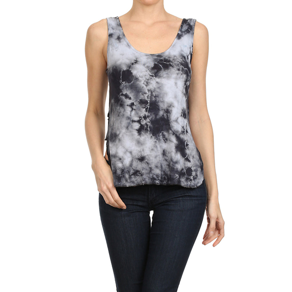 Women's Low-High Scoop Neck Tank #14010