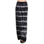 Women's Maxi Tie Dye A-Line Skirt #14072THS Black White Made In USA - IDI Clothing - Where you can buy directly for the designer manufacturer-Made In USA :)