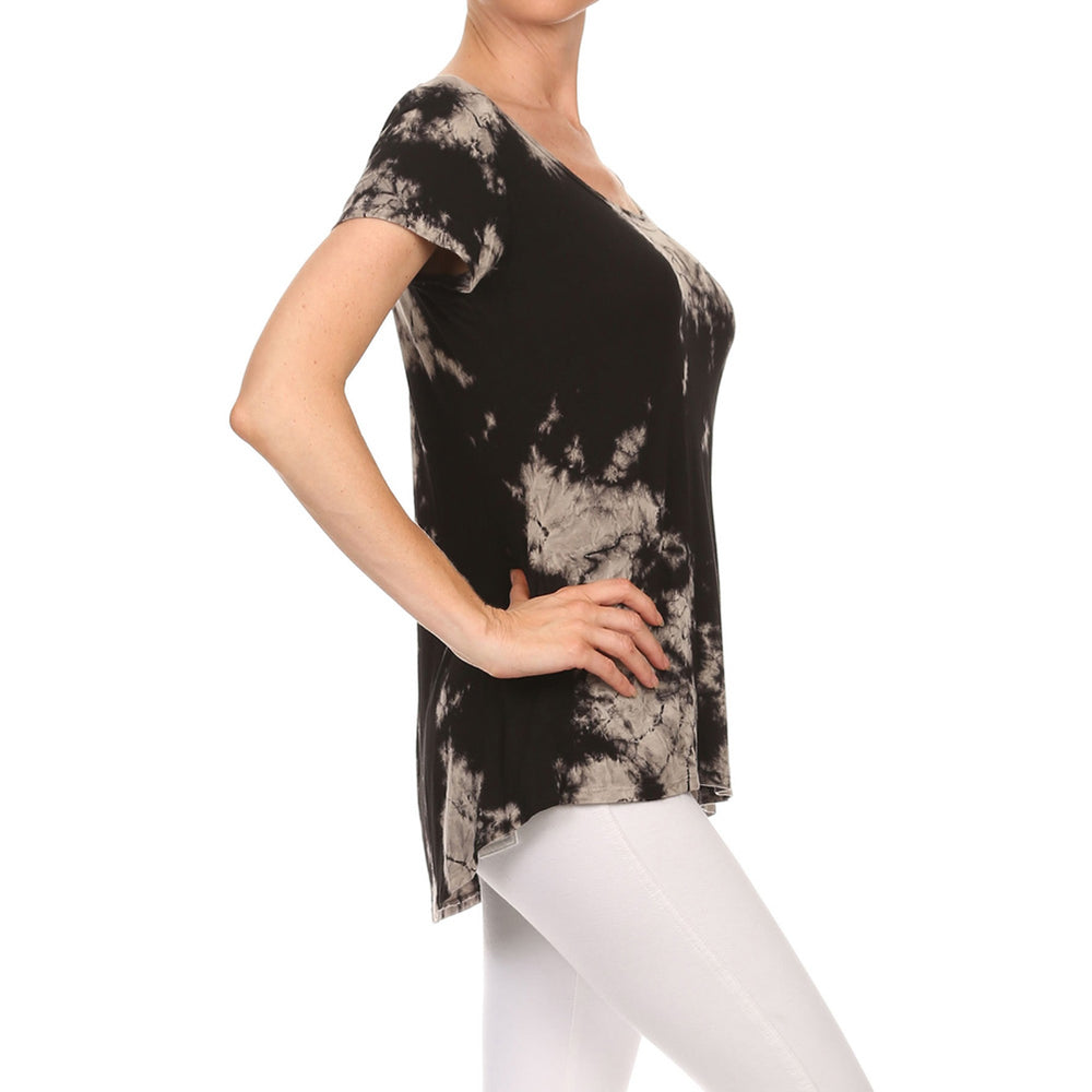 Women's High-Low Short Sleeve Top #14411 - IDI Clothing - Where you can buy directly for the designer manufacturer-Made In USA :)