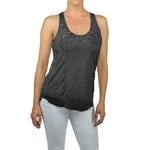 Women's Scoop Neck Burnout Tank Top #14698