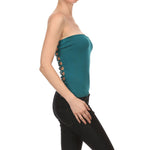 Women's Viscose/Spandex Yarn Sexy Tube Top #7014 - IDI Clothing - Where you can buy directly for the designer manufacturer-Made In USA :)