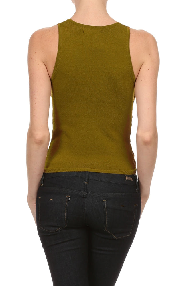 Women's Viscose/Spandex Yarn Sexy Tank Top #7015 - IDI Clothing - Where you can buy directly for the designer manufacturer-Made In USA :)