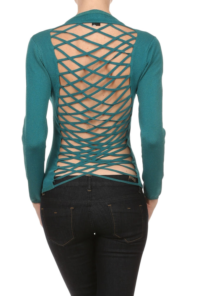 Women's Viscose/Spandex Yarn Sexy Long Sleeve Top #7016 - IDI Clothing - Where you can buy directly for the designer manufacturer-Made In USA :)