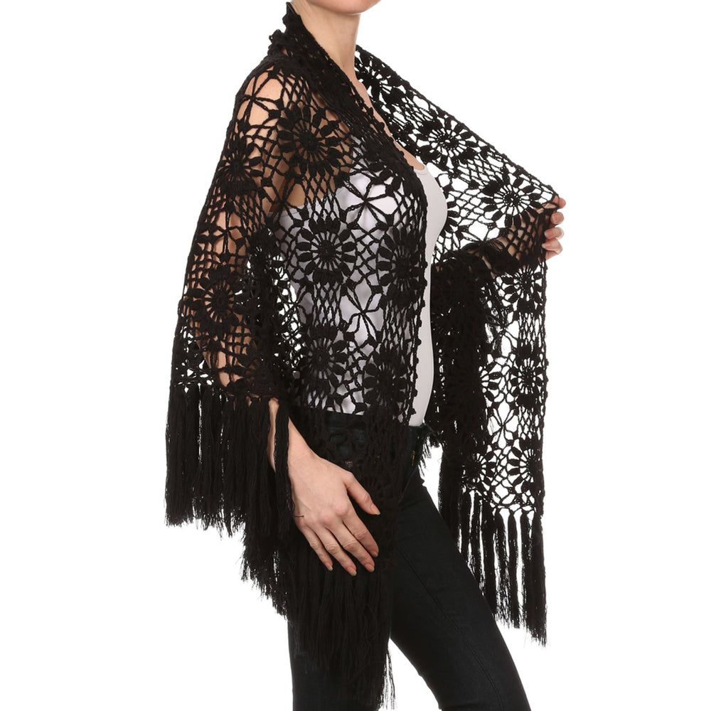 Women's Crochet Shawl #8960