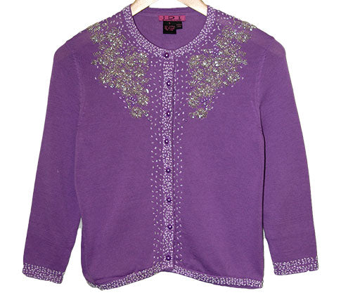 Women's Long Sleeve Beaded Vintage Cardigan #9281 - IDI Clothing - Where you can buy directly for the designer manufacturer-Made In USA :)