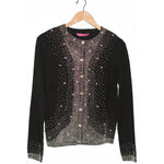 Women's Rhinestone Embellished Cardigan #9690 - IDI Clothing - Where you can buy directly for the designer manufacturer-Made In USA :)