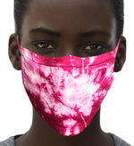 100% Cotton Knit Real Tie-Dye Face Mask #15260TD-09 and Wire nose guard