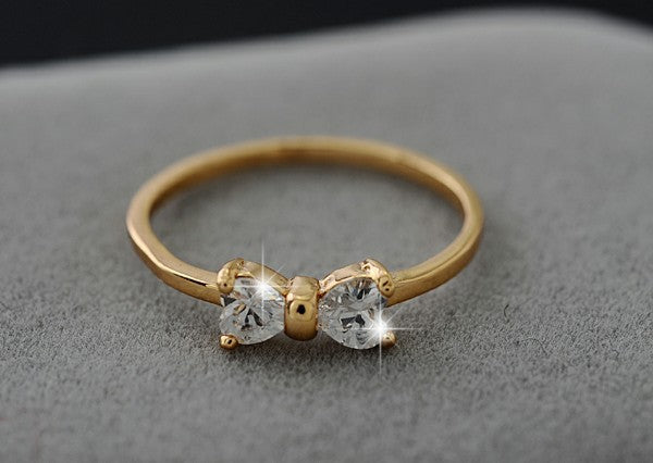 """Golden Bow"" Ring"
