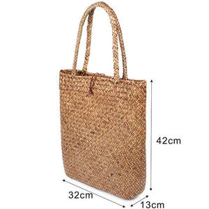 Large Summer Straw Bag