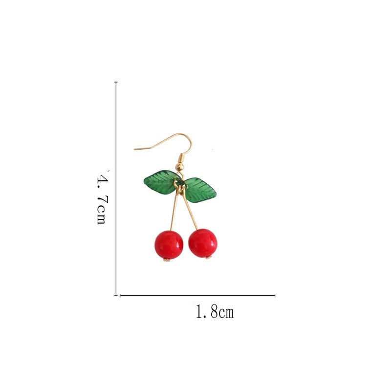 """Cherry Berry"" Stylish Women Earrings"