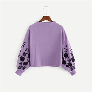 Floral Women Sweater