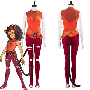 She-Ra - Princess of Power Catra Uniforme de Halloween o Carnaval Cosplay Disfraz