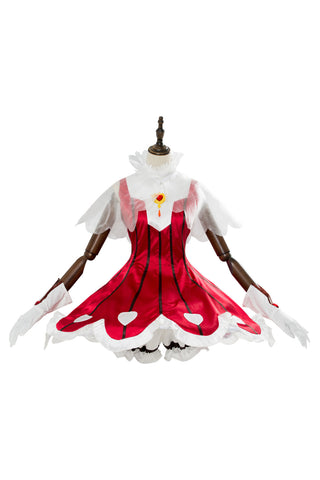 Cardcaptor Sakura Cosplay Disfraz CCS Clear Card Arc Sakura Rose Heart Rocket Beat Vestido
