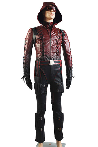 Arrow Temporada 3 Flecha Roja Roy Harper Arsenal Rojo Cosplay Disfraz