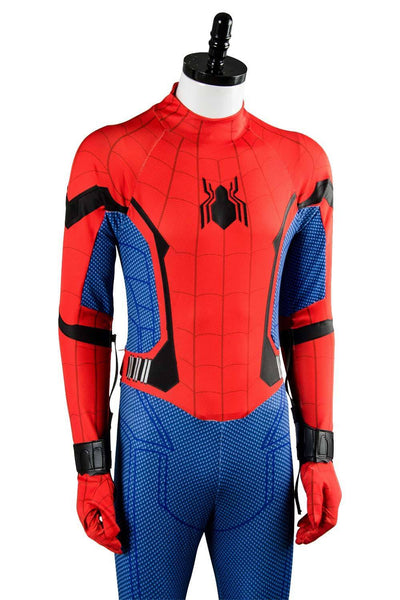 2017 Película SpiderMan Homecoming Spider man Mono Cosplay Disfraz