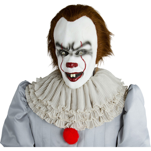 2017 IT Película Pennywise The Clown Traje Cosplay Diafraz Versión 2