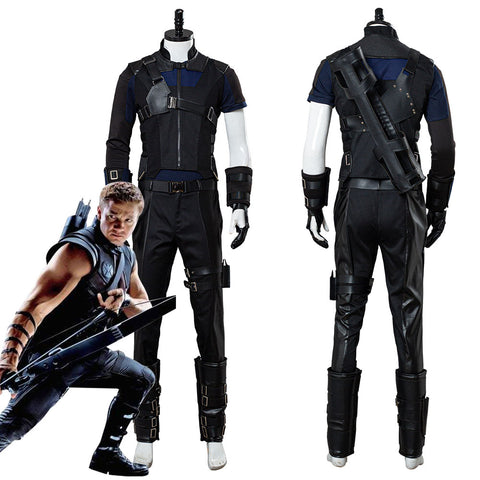 Hawkeye Captain America: Guerra Civil Traje de Uniforme Cosplay Disfraz