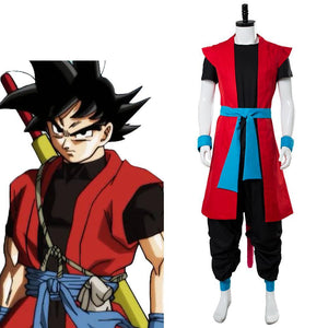 Super Dragon Ball Heroes: Universe Mission Son Goku ZENO Cosplay Disfraz