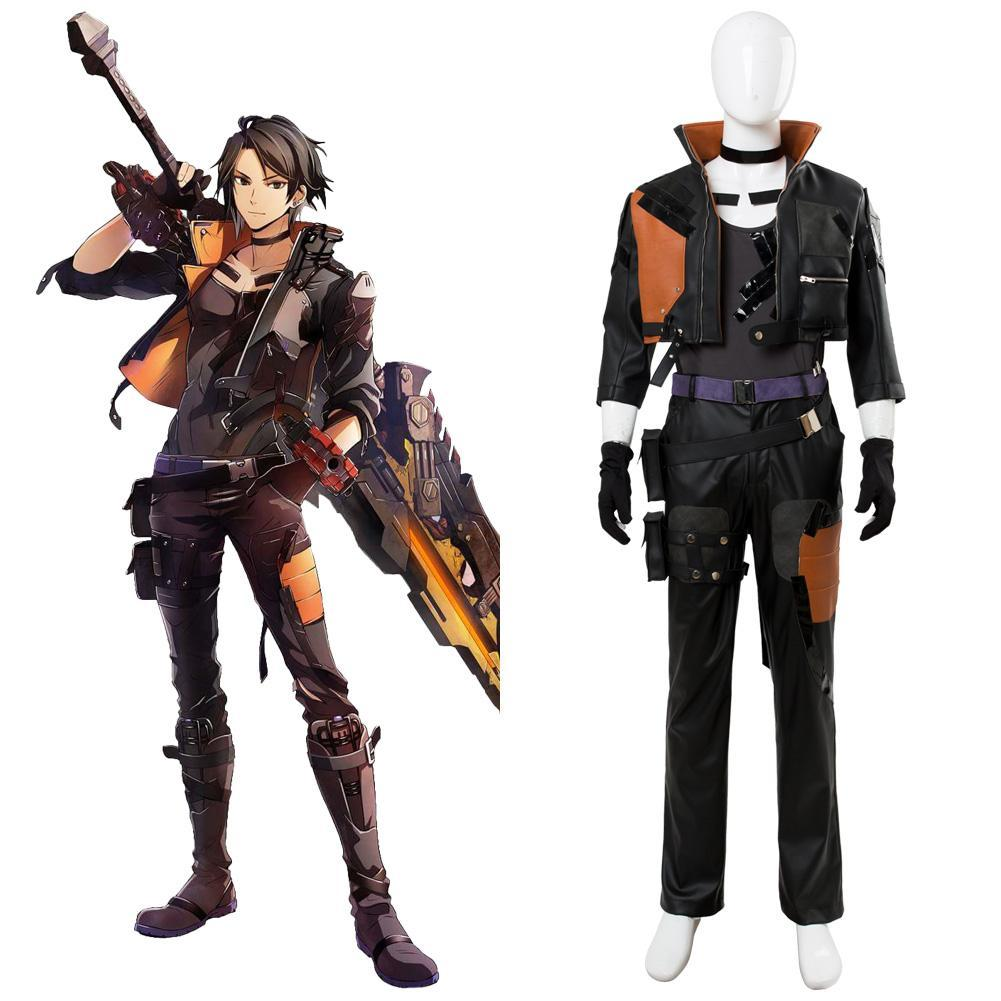God Eater 3 Hugo Pennywort Traje Cosplay disfraz