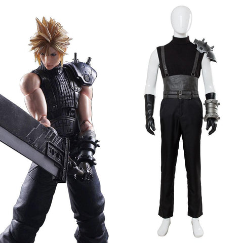Final Fantasy VII 7 Cloud Strife Cosplay Disfraz