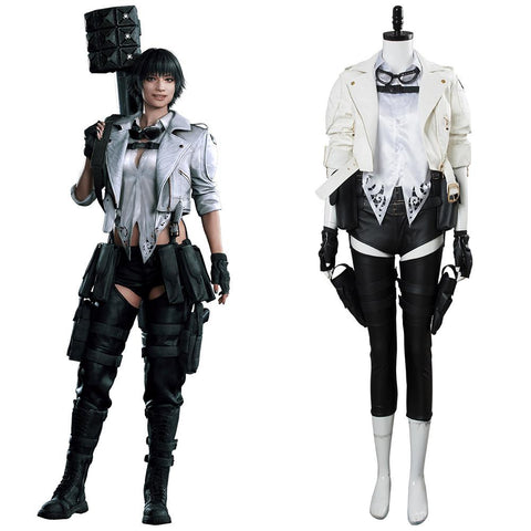 Devil May Cry V DMC5 Lady Mary Traje Cosplay Disfraz