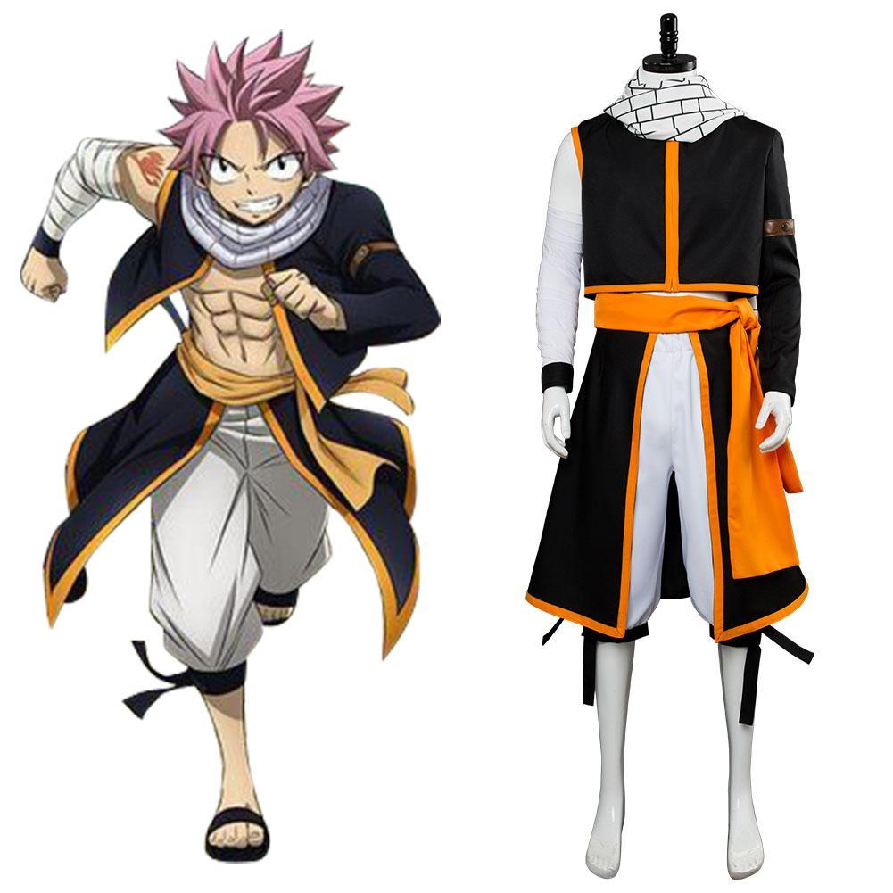 Fairy Tail Final Season Etherious Natsu Dragneel Cosplay disfraz