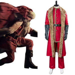 2018 Película The Christmas Chronicles Santa Claus Traje Cosplay Disfraz