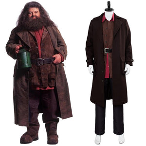 Harry Potter Rubeus Hagrid Traje Cosplay Disfraz Adulto