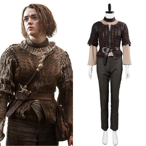 Game of Thrones Arya Stark Outfit Cosplay disfraz
