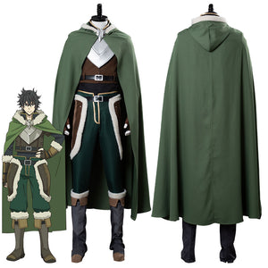 The Rising of the Shield Hero El Levantamiento del Héroe Escudo Naofumi Iwatani Cosplay Disfraz