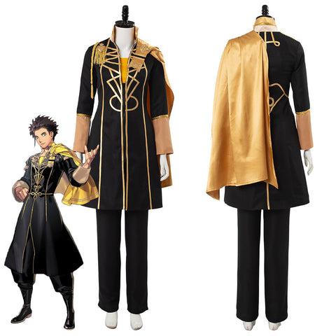 Fire Emblem: Three Houses Emblema de Fuego Tres Casas Claude von Regan Cosplay Disfraz