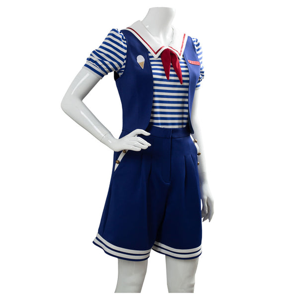 Stranger Things 3 Scoops Ahoy Uniforme Robin Cosplay Disfraz
