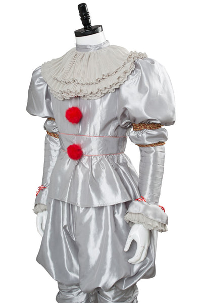 IT 2 Pennywise Clown Traje Cosplay Disfraz Stephen King Adulto Unisex