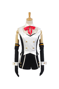 Vocaloid Hatsune Miku Project DIVA-f 2nd LUKA Uniforme Cosplay Disfraz