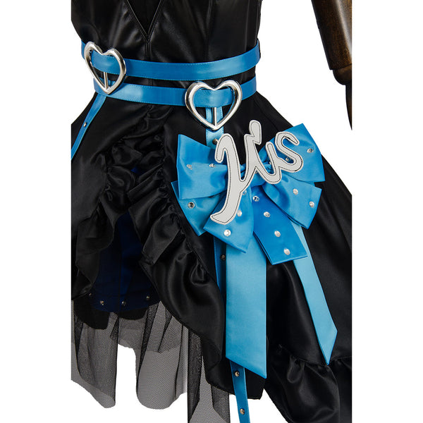 Love Live Lovelive Initial D School Idol Stage Eli Ayase Vestido Cosplay Disfraz