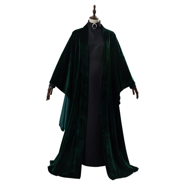Harry Potter Minerva McGonagall Traje Cosplay Disfraz
