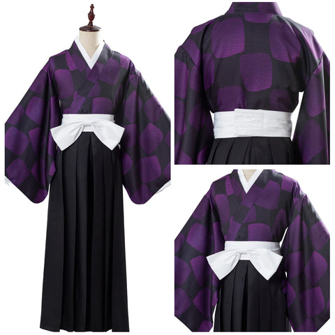 Demon Slayer: Kimetsu no Yaiba Kokushibou Upper Moon One Tsugikuni Michikatsu Cosplay Disfraz