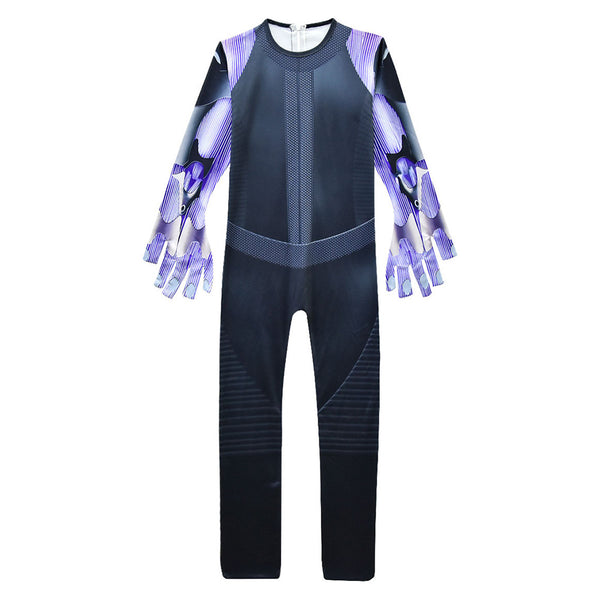 Alita Battle Angel Cosplay Halloween Mono para Niños Cosplay Disfraz