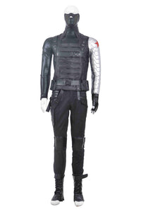 Capitán América 2 The Winter Soldier Bucky Barnes Cosplay disfraz Traje