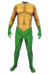 Aquaman Arthur Curry Mono Cosplay Disfraz