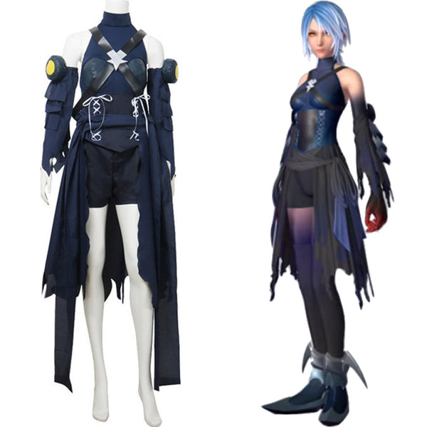 Kingdom Hearts III Aqua Cosplay Disfraz