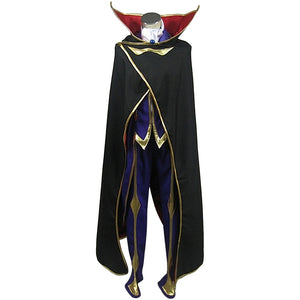 Code Geass: Lelouch of the Rebellion Zero Traje Cosplay Disfraz