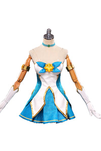 LOL League of Legends Star Guardian Soraka Vestido Cosplay Disfraz