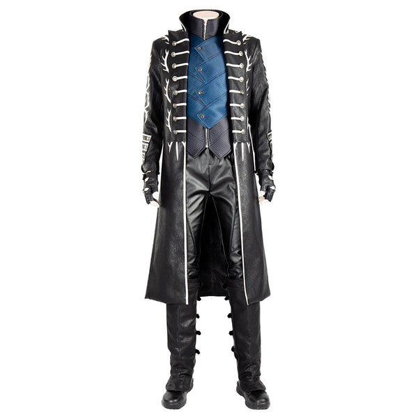 Vergil Aged Devil May Cry V DMC5 Traje Ver. B Cosplay Disfraz