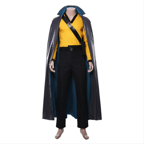 Star Wars La Guerra de las Galaxias 9: The Rise of Skywalker-Lando Calrissian Traje Cosplay Disfraz