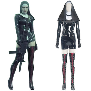 Nun Sister Hitman 5: Absolution Rosewood Orphanage Cosplay Disfraz